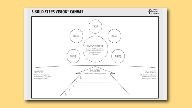 5 bold steps canvas thumbnail image